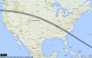 2017 Solar Eclipse Path