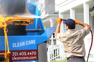 Get the Smell Out of My Trash Can - Trash Can Cleaning